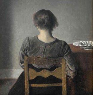 Exposition Hammershoi. Le maître de la peinture danoise