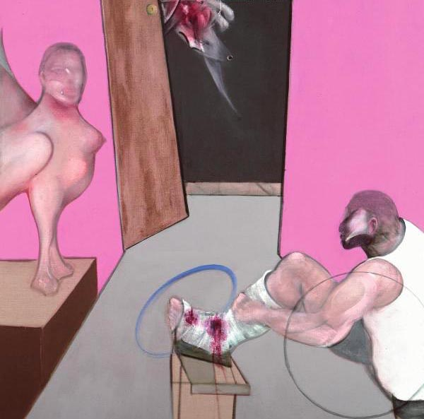 Exposition Francis Bacon en toutes lettres - Centre Pompidou
