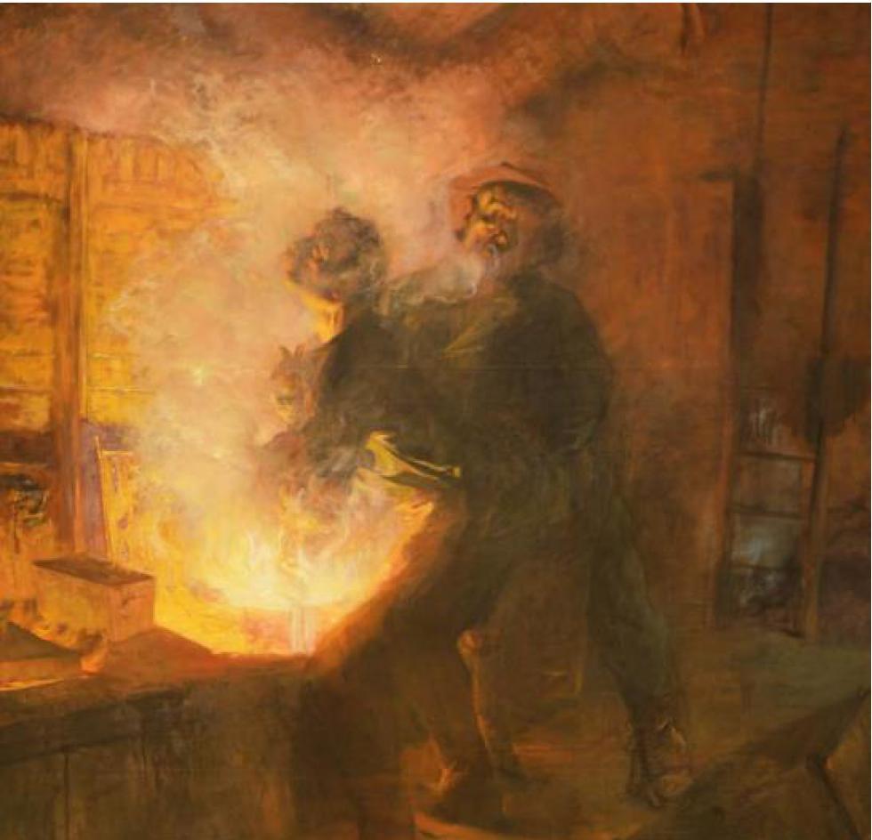 Exposition Les villes ardentes - Art, travail, révolte (1870-1914)