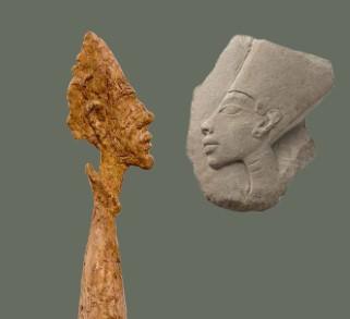 Exposition Alberto Giacometti et l'Egypte antique